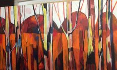 Sunset treescape in upwey  Jcdc.com.au Christianity, Sunset, Studio, Painting, Sunsets, Study, Painting Art, Studios, Paint