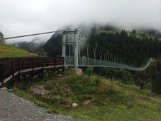 Longest suspension bridge in the world @ AUSTRIA, Tirol