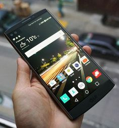 LG's V10 has two front-facing 5-megapixel cameras and a secondary screen above the main screen