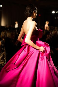 Marchesa Fall Pink rtw #pink