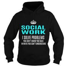 SOCIALWORK TSHIRT HOODIE