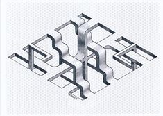#impossible #isometric #geometry #symmetry #pattern #oscareutersvärd #escher #mathart #regolo54 #penrose #triangle #labyrinth