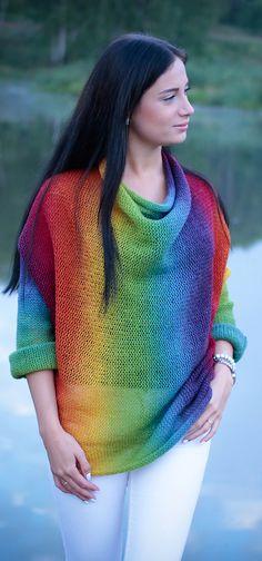 Ravelry: Fiesta sweater by ToBeStudio #knitting_pattern #for beginners #easy_patern #knitted_sweater_patterns #ToBeStudio #2bstudio