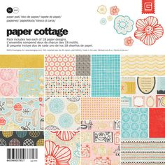 Basic Grey PAPER COTTAGE 6x6 Paper Pad #StudioCalicoPinToWin