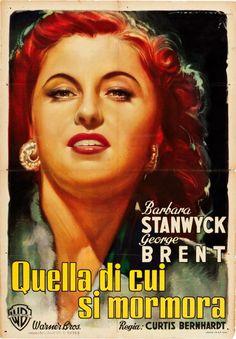 My Reputation (1946) - Italian Two Foglio (Luigi Martinati)