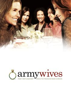 Army Wives...only on season 2, love this show.