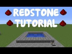 Minecraft 1.9: Redstone Tutorial - Instant Pool! - YouTube