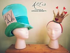 MAD HATTER & HEART QUEEN Style and Handmade By ArtEcò Creazioni di Annalisa Benedetti #artecocreazioni #annalisabenedetti #stylist #handmade #madeinitaly #carnevale #carnival #viareggio #art #theatercostume #costume #fantasy #fantasy #creative #cosplay #theater #costume #cappellaiomatto #madhatter #wonderland #heartqueen
