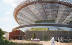 View the full picture gallery of Dubai Expo 2020 Sustainability Pavilion Attraction World, Pavilion Design, Expo 2020, Cultural Center, The Visitors, Sustainability, Dubai, Fair Grounds, Around The Worlds