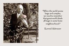 inspirational quote by Konrad Adenauer