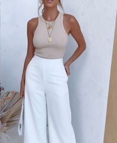 Style Outfits, Mode Outfits, Cute Casual Outfits, Fashion Outfits, Stylish Summer Outfits, Fashion Mode, Look Fashion, Womens Fashion, Fashion Trends
