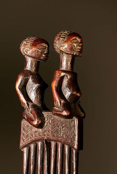 Couple Tchokwe de profil (4)