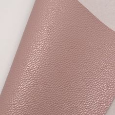 Light Mauve Textured Faux Leather Faux Leather Fabric, White Cotton, Cotton Canvas, Mauve, Cleaning Wipes, Craft Projects, Bows, Leaves, Texture