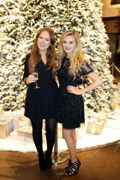 Tanya Burr -  British fashion, beauty and lifestyle vlogger w/ her own make-up line   Niomi Smart - Fashion  lifestyle blogger/vlogger