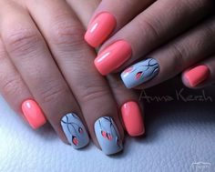 Simple Nail Art Designs That You Can Do Yourself – Your Beautiful Nails Simple Nail Art Designs, Short Nail Designs, Fall Nail Designs, Beautiful Nail Designs, Easy Nail Art, Beautiful Nail Art, Short Nails, Long Nails, Trendy Nails