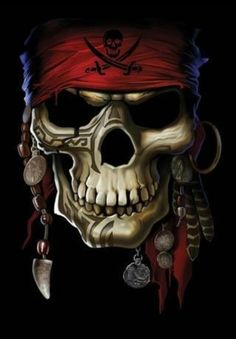 Pirate skull                                                                                                                                                      More