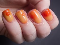 Candy Corn by PrettyandPolished on Etsy