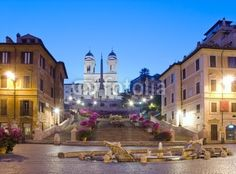 Rome Plazza di Spagna