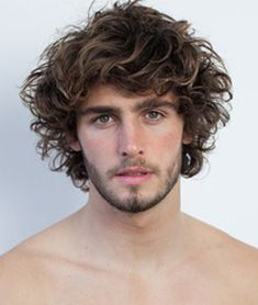 Men's Surfer Beach Hair