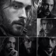 Tom Mison is stunning in B&W.