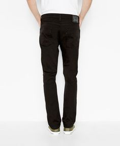 The 513 Slim Straight Fit Pants in Sleek Black | Products, Pants ...