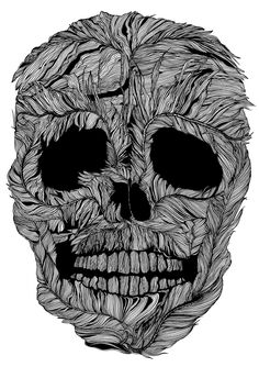 """Check out my @Behance project: """"Skull No.9 Pluma"""" https://www.behance.net/gallery/52711637/Skull-No9-Pluma"""
