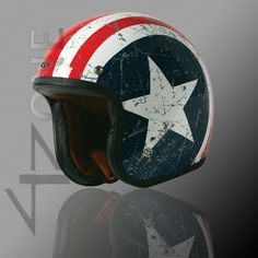 The TORC T541 captain america 3/4 pilot motorcross retro vintage helmet china OPEN FACE MOTORCYCLE SCOOTER HELMET With glass-in Helmets from...
