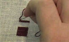 Top Ten Medieval Embroidery Stitches- #9 Long-Armed Cross Stitch