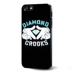 Diamond Crooks Samsung Galaxy S3 S4 S5 Case Samsung Galaxy Note 3 Case iPhone 4 4S 5 5S 5C Case Ipod Touch 4 5 Case