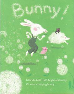Hopping Bunny Marc Boutavant