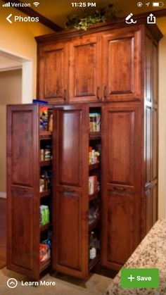 Love this idea. No digging and loosing stuff in the back of a cabinet.