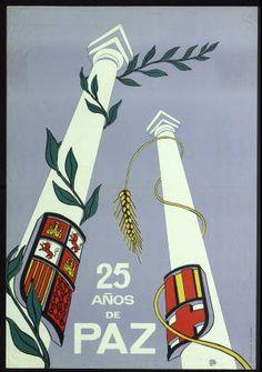 25 años de paz :: Cartells (Biblioteca de Catalunya)