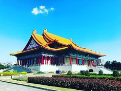 National Theater & Concert Hall #nationalconcerthall #visit #taipei #taipeitravel #taiwan #自由広場 #台北 #台北旅行 #台湾 #travel #photography #chinesestyle #traditionalchinese#structure #Artistic #center#芸術センター