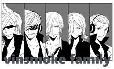 One piece. vinsmoke. family.