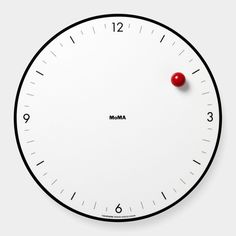 Who needs hands when you can have this MOMA Timesphere Clock that seems to defy gravity with its design.