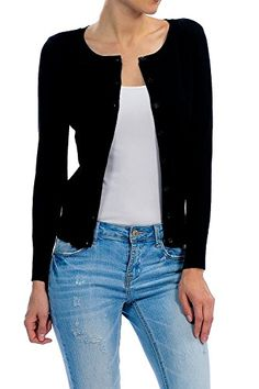 YourStyle Basic Solid Button Up Crew Neck Cardigan Sweater S-3XL - http://www.darrenblogs.com/2016/10/yourstyle-basic-solid-button-up-crew-neck-cardigan-sweater-s-3xl/