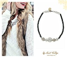 Add a little bit of sparkle to your winter wardrobe.. #accessories #winter