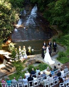 10 Delightful Waterfall Wedding images | Waterfall wedding, Dream