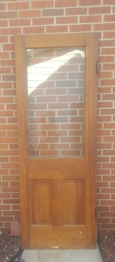 Old Wood Door Interior Door Building Supply Architectural Salvage Farmhouse Remodel Cottage Reclaimed 4 Panel Door Solid Wood AF32   Wood doors ... & Old Wood Door Interior Door Building Supply Architectural ... pezcame.com