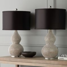 Shop for Abbyson Silvertone Sea Urchin Table Lamp (Set of 2). Get free delivery at Overstock.com - Your Online Home Decor Shop! Get 5% in rewards with Club O! - 16811318