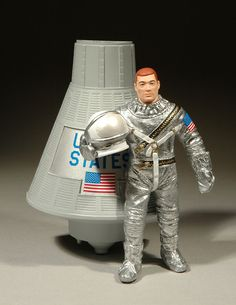 Vintage GI Joe In Space