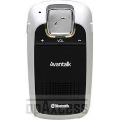 Kit mains-libres Bluetooth Avantalk noir