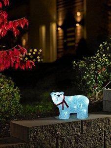 Konstsmide staande LED-ijsbeer acryl kopen? Bestel vandaag nog bij kerstverlichting-expert.nl