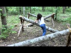 Obstacle Course at Warrior Woods - YouTube