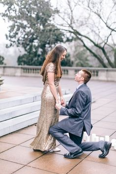 """""""When he got down on one knee, he started explaining to me how long he had been waiting to ask me this sweet question. He explained that from the moment he met me, he knew I was the one and he wanted to spend the rest of his life with me."""""""