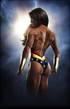Wonder woman I am!!