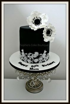 Simple, yet classy! ~ All edible Anenomes
