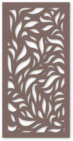Eucalypt from Kyoto Decorative Metal Screen, Decorative Panels, Laser Cut Panels, Laser Cut Metal, Window Grill Design, Door Design, Stencil Patterns, Stencil Designs, Jaali Design