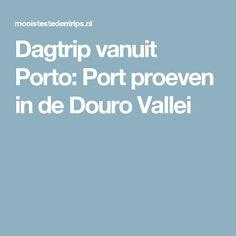 Dagtrip vanuit Porto: Port proeven in de Douro Vallei