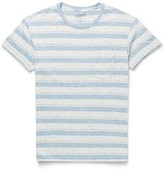 Grayers - Striped Cotton-Jersey T-Shirt |MR PORTER